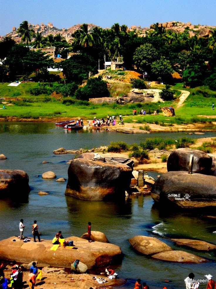 10 Best Backpacking Destinations in India | Hampi River