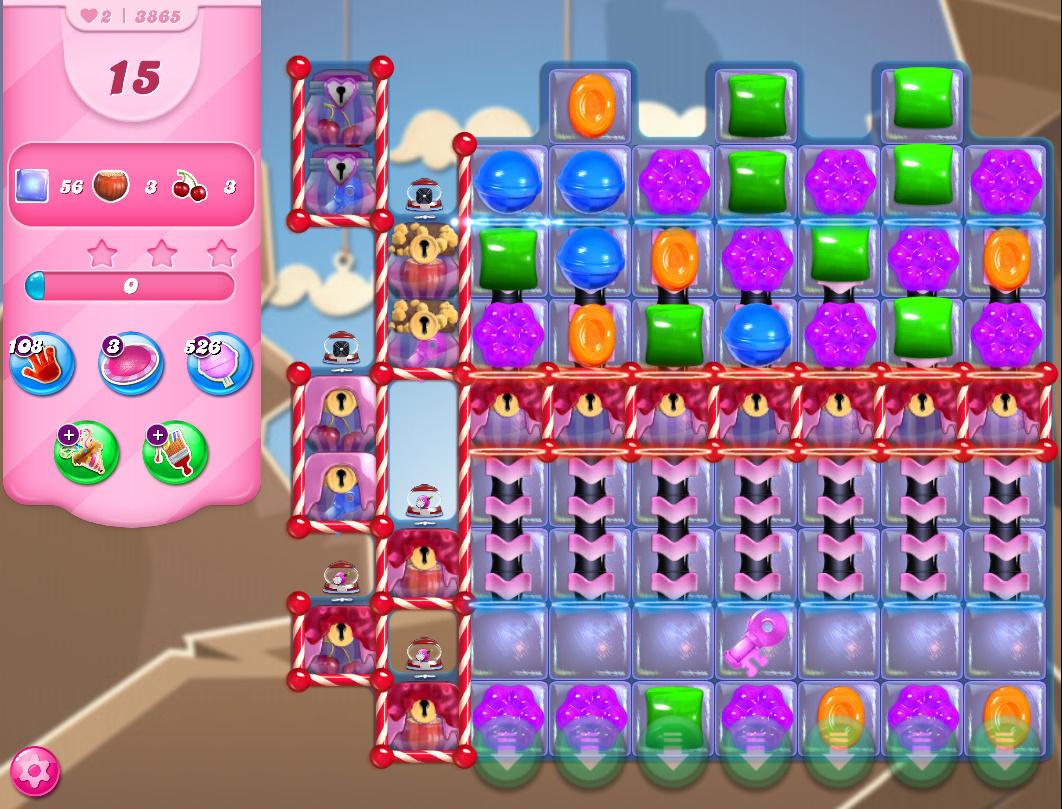 Candy Crush Saga level 3865