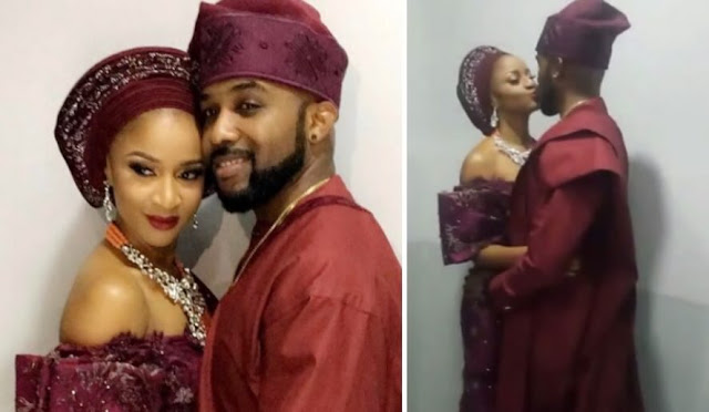 Banky W And Adesua's Introduction