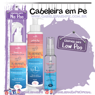 Super Ampolas Dercos Energizante (Low Poo) e Reequlibrante (No Poo)