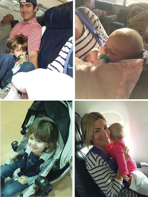 Airplane Travel with Toddlers & Babies