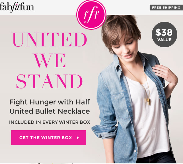 fab fit fun Winter 2014 spoiler