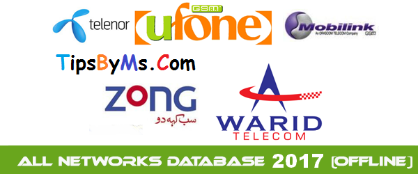 All Network Database 2017 Highly Compressed Free Download