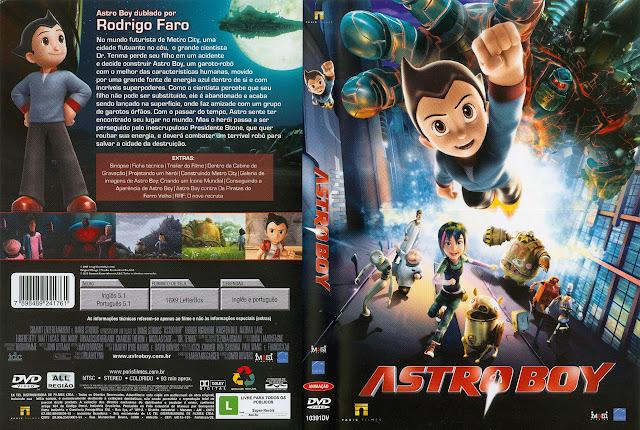 Capa DVD ASTROBOY