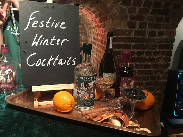 Sipsmith winter gin and tonic