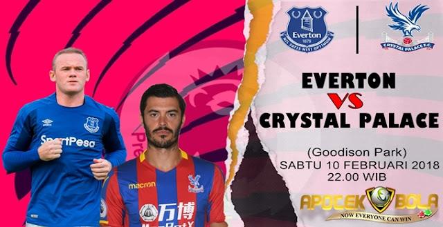Prediksi Everton vs Crystal Palace 10 Februari 2018