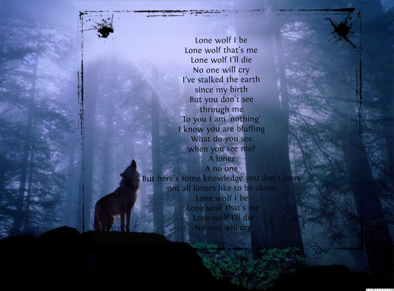 Lone Wolf Quotes Tumblr