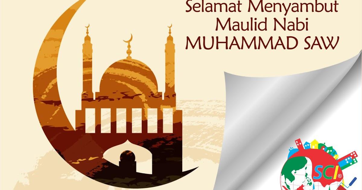 Selamat Menyambut Maulid Nabi Muhammad Saw Sci Pusat
