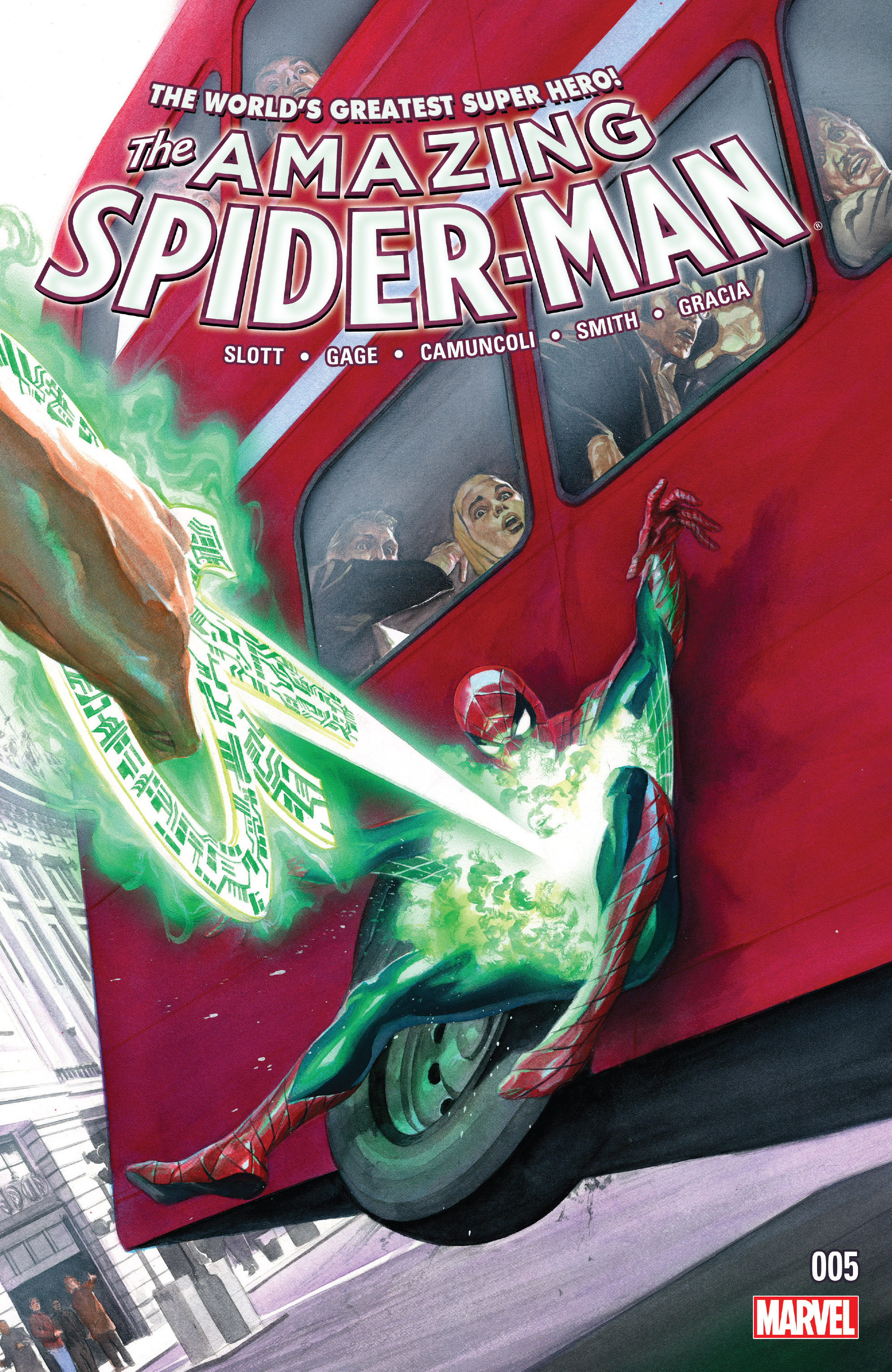 The Amazing Spider-Man (2015) 5 Page 1