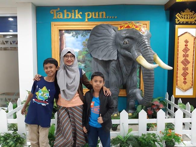 Melihat Kehidupan Gajah Dari Dekat Di Way Kambas