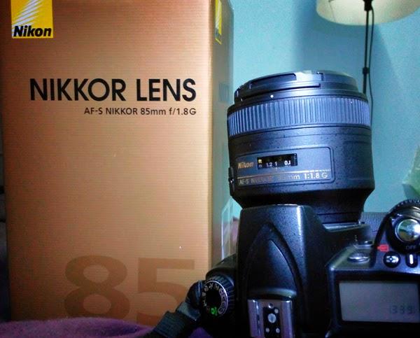 Loving My New Nikon 85mm f/1.8G lens