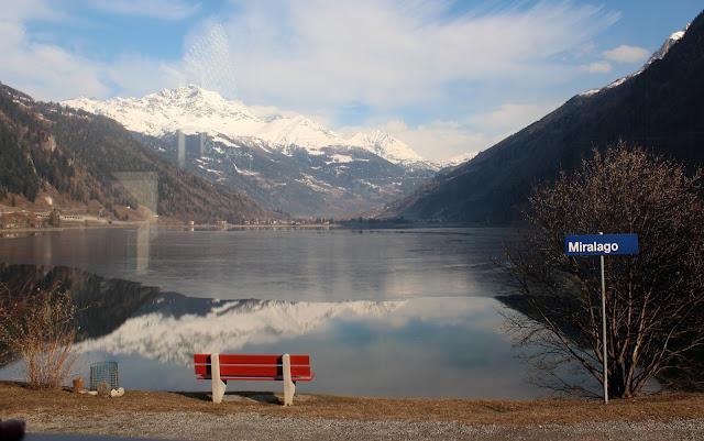 Lago de Poschiavo desde Miralago