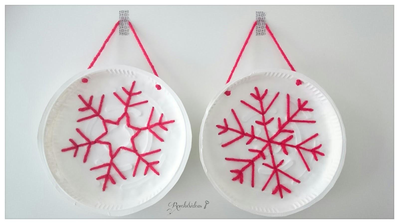 Revelo & ideas low cost: Diy adornos navideños reciclando envases