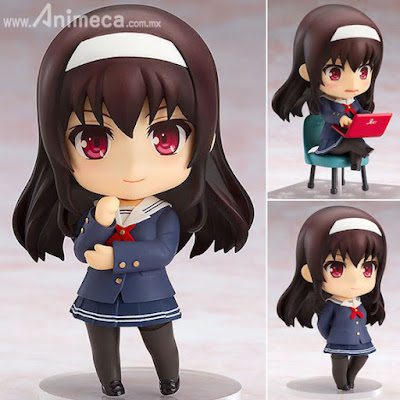 "Figura Utaha Kasumigaoka Nendoroid ""Saekano: How to Raise a Boring Girlfriend ♭"" Saenai Heroine no Sodatekata"