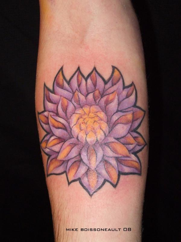 1990tattoos Black Lotus Tattoo