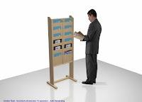 Display / Rak Untuk Brosur Produk - Interior Toko