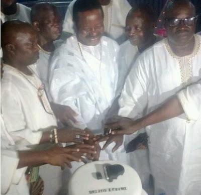 King sunny Ade celebrates 70th birthday