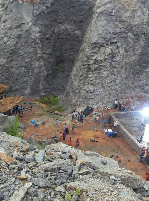 Baahubali Part 2 Shooting photos Leaked
