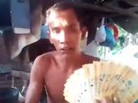 Dapat Kiriman Uang Dari Istri TKW, Pria ini Bersumpah Lakukan Hal ini di Sosial Media