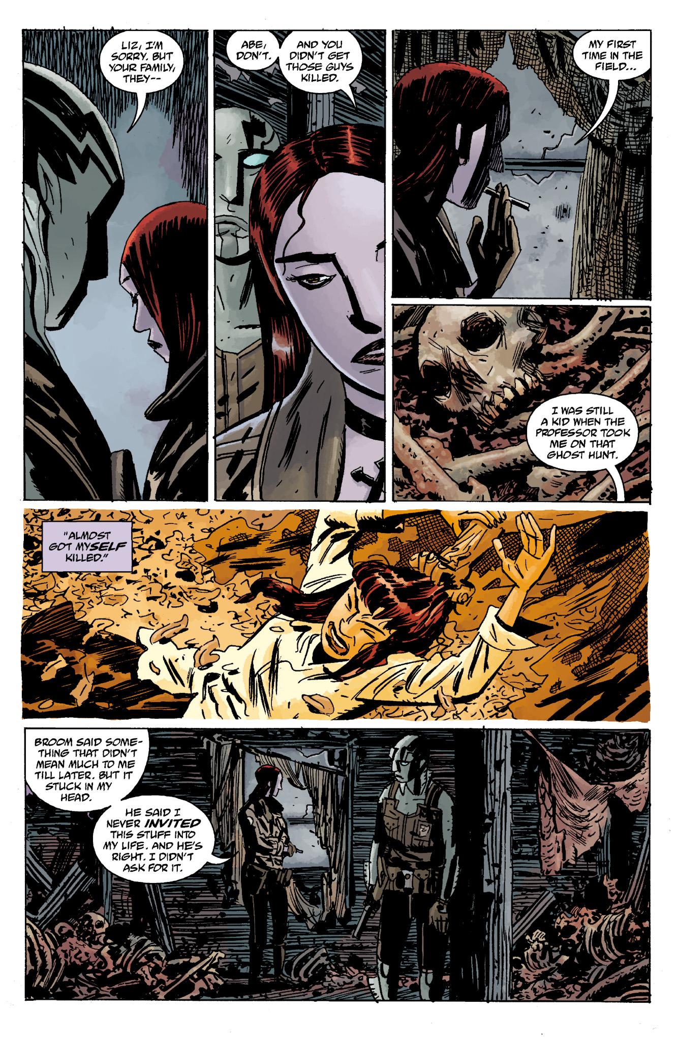 Read online Abe Sapien comic -  Issue #13 - 33