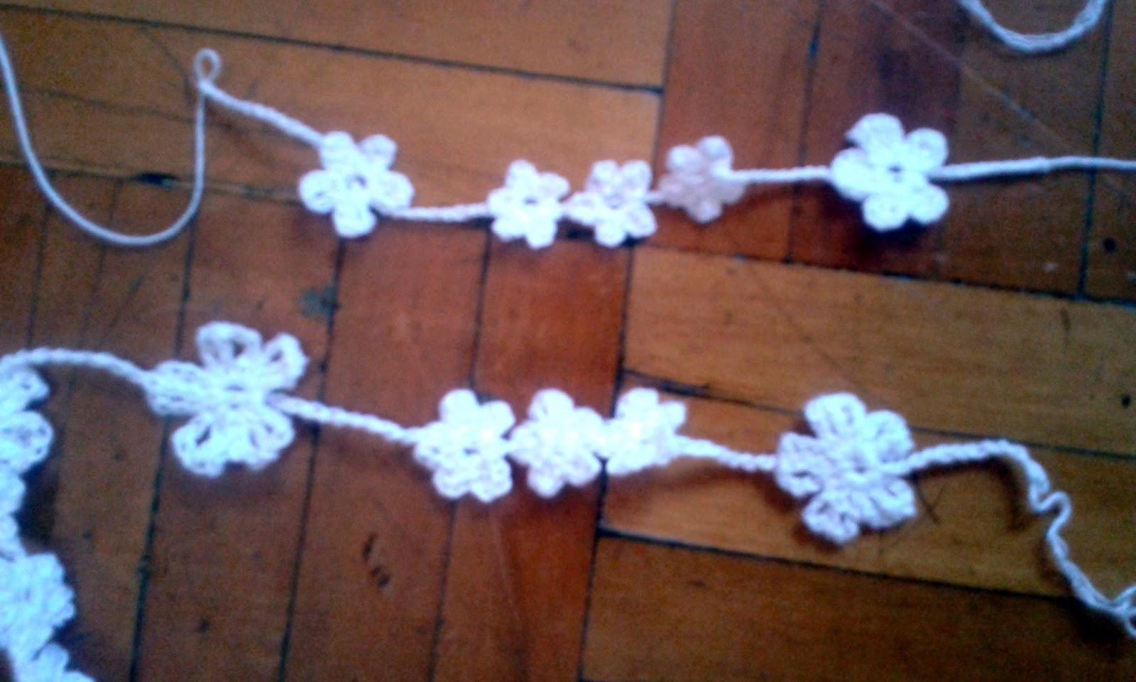 Accesorios De Crochet Flores Miniatura El