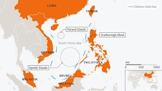 Peta Laut China Selatan Versi China