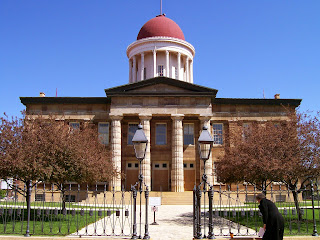 Old State Capitol in Springfield, Ill.