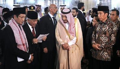 Ini Kata Media Asing soal Kunjungan Raja Salman di Indonesia