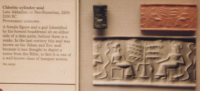 The Bible in the British Museum : interpreting the evidence (New ed. ed.). New York: Paulist Press. p. 24. ISBN 9780809142927. Adam and Eve cylinder seal.