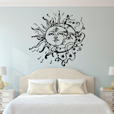 Kamar merupakan salah satu cuilan terpenting dari sebuah rumah 70 Gambar Stiker Dinding Kamar Tidur dengan Motif Modern Terbaru