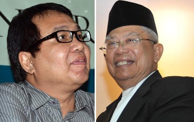 KH Maruf Amin vs Bonar