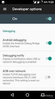 Aktifkan USB Debugging