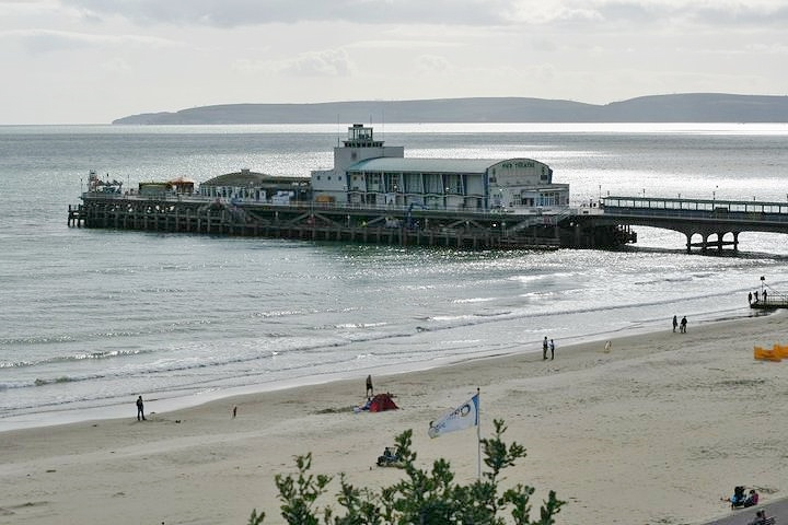 Bournemouth coastal town to visit in UK