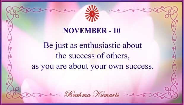 Thought For The Day November 10