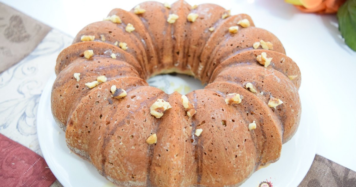 Banana Nut Bundt Cake With Cream Cheese Icing
