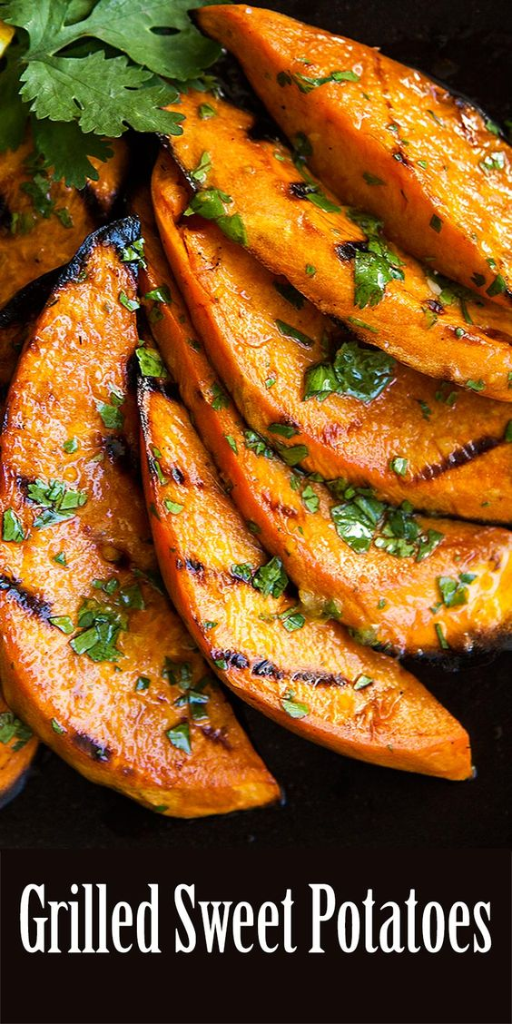 ★★★★☆ 5910 rating     | Grilled Sweet Potatoes #Grilled #Sweet #Potatoes #Vegetable #Vegan