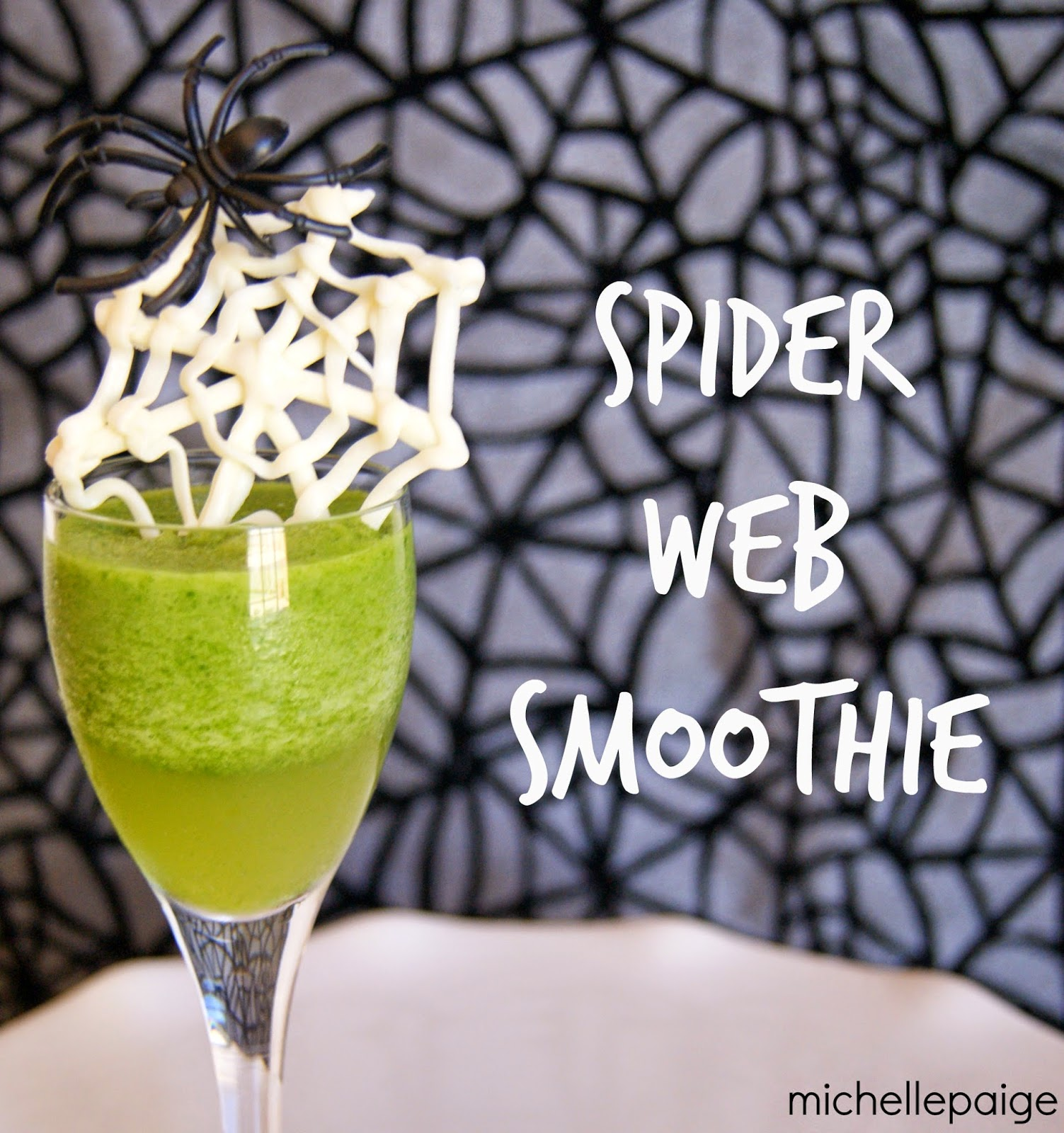 Spider Web Smoothie