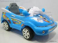 Mobil Mainan Aki ELITE 633R SPACE SUPER COP dengan BOOM BOX 1