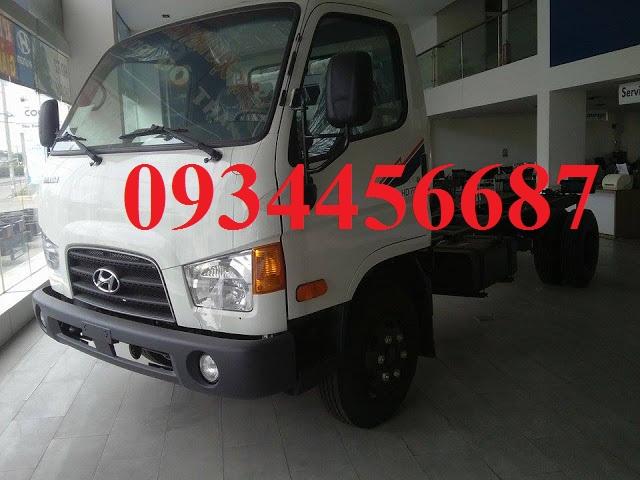 Xe Hyundai HD72 3,5 tấn nhập khẩu