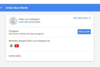 Channel Youtube Suspend tanpa Pemberitahuan Email,