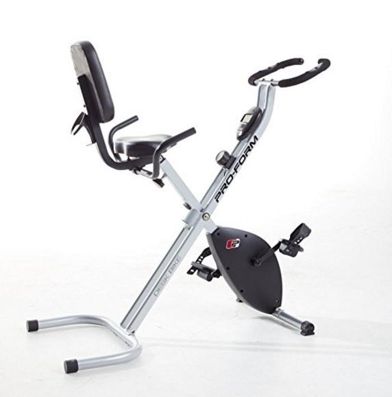 hightechholic proform desk x bike exercise bike workout. Black Bedroom Furniture Sets. Home Design Ideas