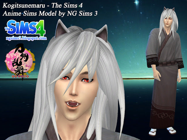 Sims 4 Anime Characters : Ng sims february