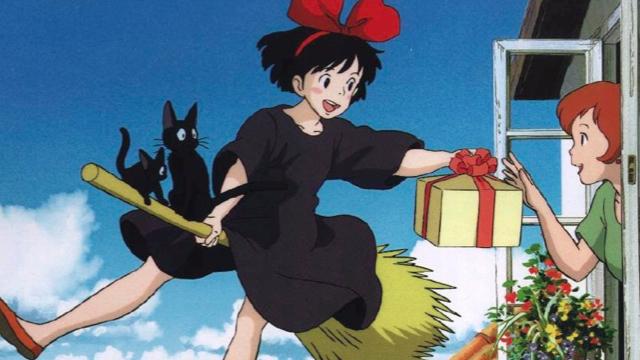 Delivering a package Kiki's Delivery Service 1989 animatedfilmreviews.filminspector.com