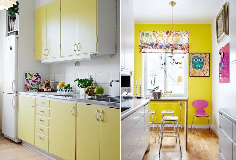 Perlu Diingat Dengan Paparan Yang Berkepanjangan Kelimpahan Warna Kuning Pada Desain Dapur Mulai Mengiritasi Dan Ban Karena Itu Lebih Baik Tidak