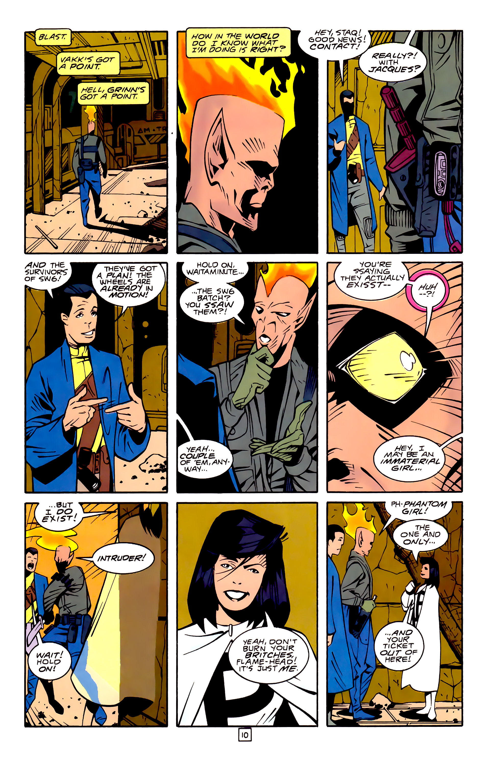 Legion of Super-Heroes (1989) 32 Page 10