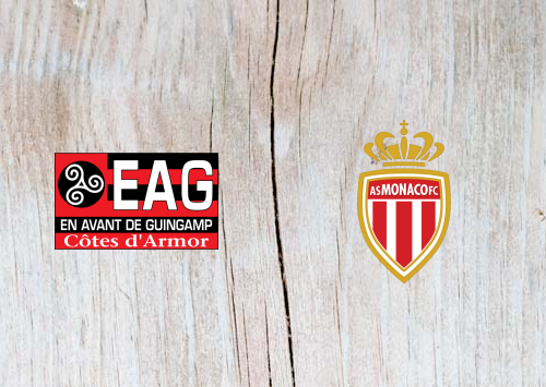 Guingamp vs Monaco - Highlights 29 January 2019