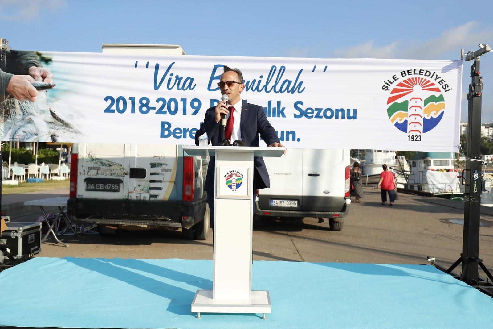 """Şile, 2018-2019 Av Sezonu İçin """"Vira Bismillah"""" Dedi"""