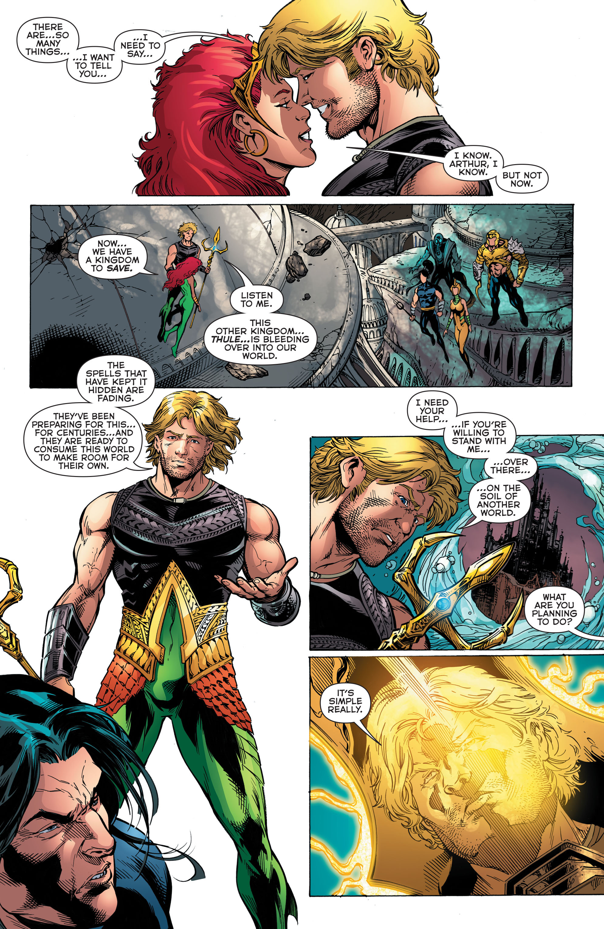 Read online Aquaman (2011) comic -  Issue #48 - 12