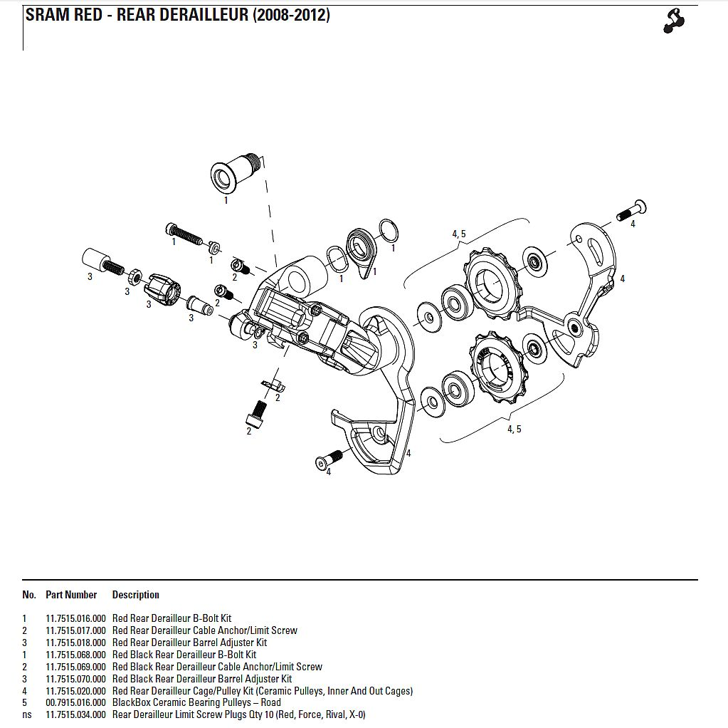 Sram X7 Rear Derailleur Manual