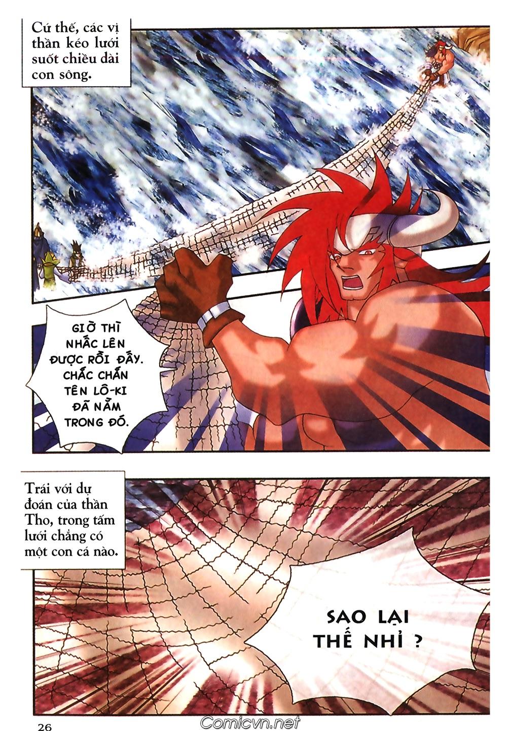 Thần thoại Bắc Âu - Chapter 47: Gieo gió gặt bão - Pic 27